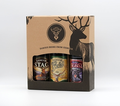 Picture of EXMOOR ALE 3 BOTTLE GIFT PACK X 6