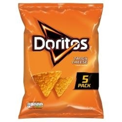 Picture of DORITOS TANGY CHEESE 5PK X 30