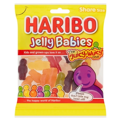 Picture of HARIBO JELLY BABIES 160G X 12