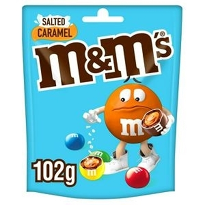 Picture of M&M'S SALTED CARAMEL POUCH 102G X 12