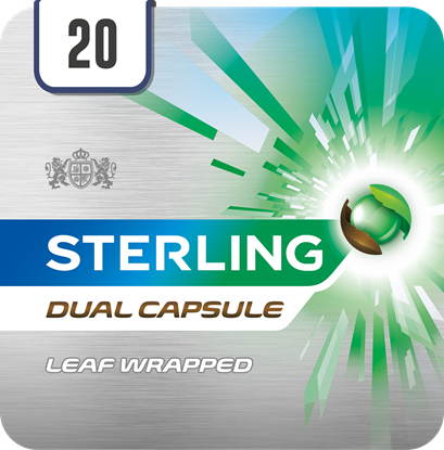 Picture of PM £9.10 STERLING DUAL CIGARILLO 20's
