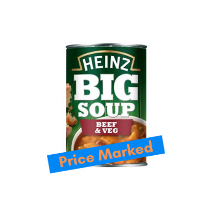 Picture of PM £1.29 HEINZ BIG SOUP BEEF & VEG x12