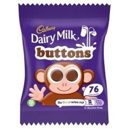 Picture of CADBURY DAIRY MILK BUTTONS 14.4G X 60