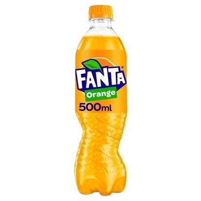 Picture of FANTA ORANGE 500ML BOTTLES X 12