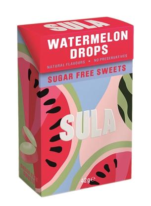 Picture of SULA WATERMELON SUGAR FREE 42g x 14
