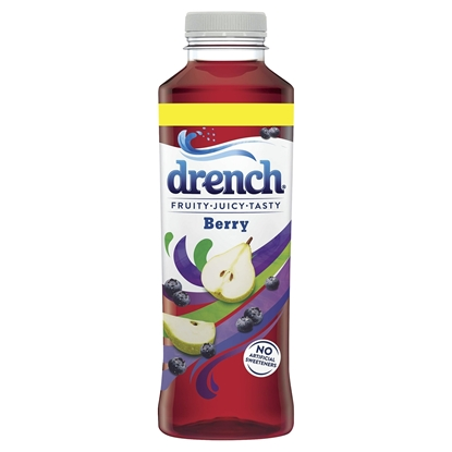 Picture of DRENCH *24 PACK* BERRY 500ML X 24