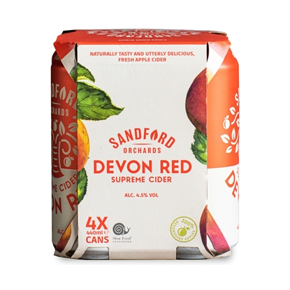 Picture of SANDFORD ORCHARDS DEVON RED 440ml 4PK x 6