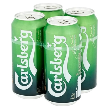 Picture of PM £5.00 CARLSBERG 4PK X 500ML X 6