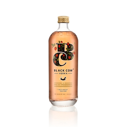 Picture of BLACK COW STRAWBERRY VODKA 70CL X 6