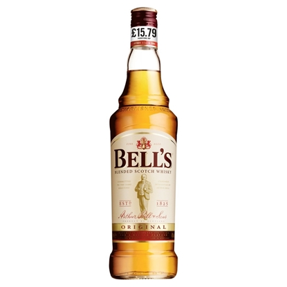 Picture of PM £15.79 BELLS WHISKY 70CL X 6