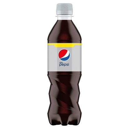 Picture of PM £1 DIET PEPSI BOTTLE 500ML X 12