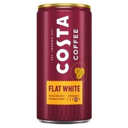 Picture of COSTA COFFEE *FLAT WHITE* 200ml x 12
