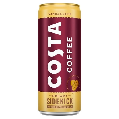Picture of COSTA COFFEE *VANILLA LATTE* 250ml x 12