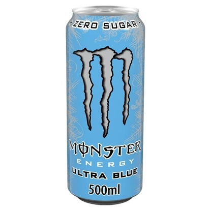 Picture of PM £1.29 MONSTER ULTRA BLUE 500ML X 12