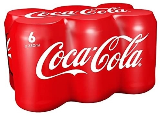 Picture of PM £3.75 COKE CANS 330ml 6PK x 4