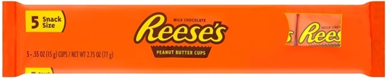 Picture of REESES PEANUT BUTTER CUPS 77g 5PK x 18