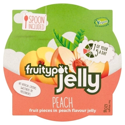 Picture of FRUITY POTS *JELLY* PEACH x18