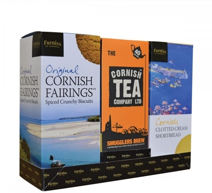Picture of FURNISS CORNISH TEA&BISCUIT GIFT PACK x 4