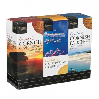Picture of FURNISS WESTCOUNTRY TRIPLE GIFT PACK 600G X 4
