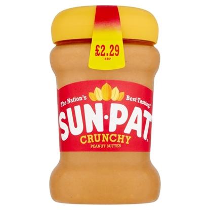 Picture of PM £2.29 SUNPAT CRUNCHY PEANUT BUTTER 300G X 6