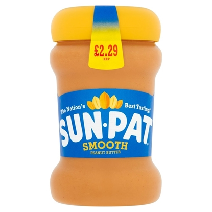 Picture of PM £2.29 SUNPAT PEANUT BUTTER SMOOTH 300G X 6