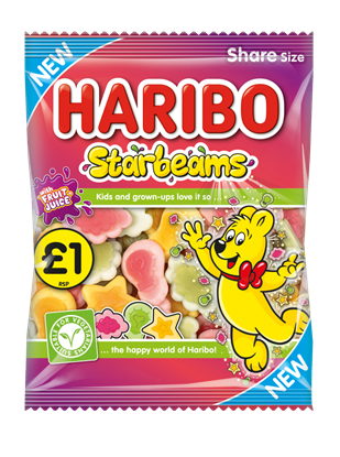 Picture of PM £1 HARIBO STARBEAMS 160g x 12
