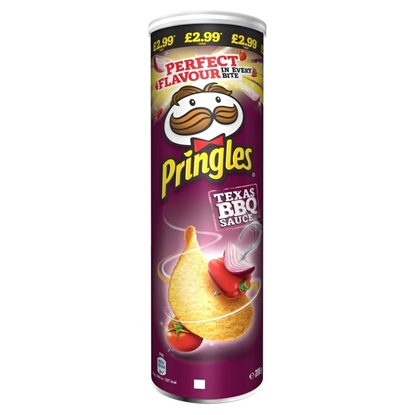Picture of PM £2.99 PRINGLES BBQ 200G X 6