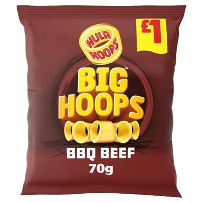Picture of PM £1 BIG HOOPS BBQ 70g X 16