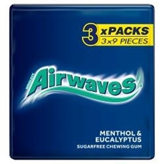 Picture of WRIGLEYS AIRWAVES MENTHOL 3PK x 20