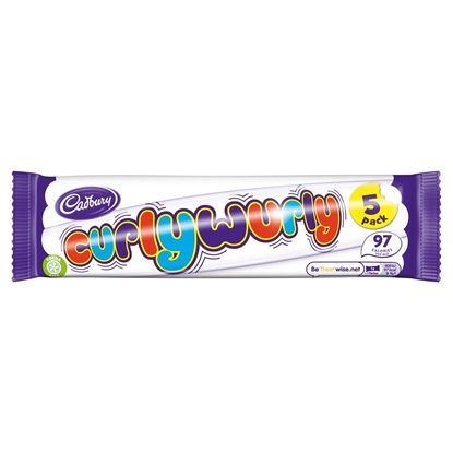 Picture of CURLY WURLY 5 PACK 107.5G X 28
