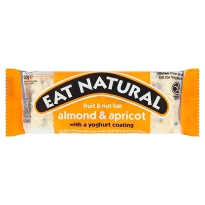 Picture of EAT NATURAL ALMOND&APRICOT YOGHURT COATED 50g x 12