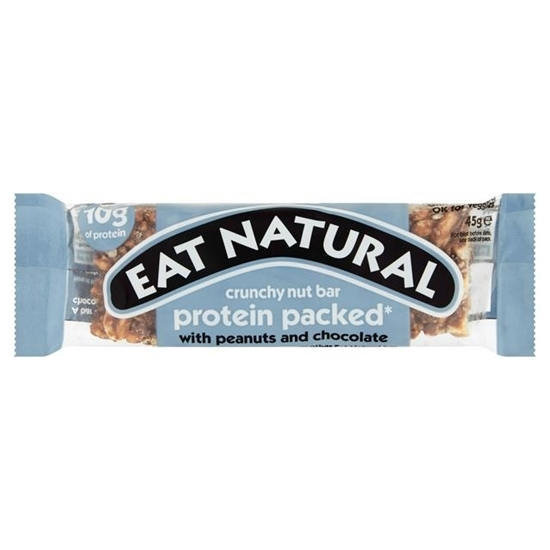 Picture of EAT NATURAL PROTEIN PACKED PEANUT & CHOC 45g x 12