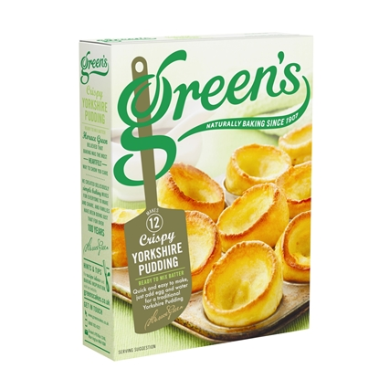 Picture of GREENS BATTER (YORKSHIRE PUDDING) MIX 125G X 6