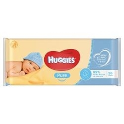 Picture of HUGGIES WIPES PURE 56S X 6