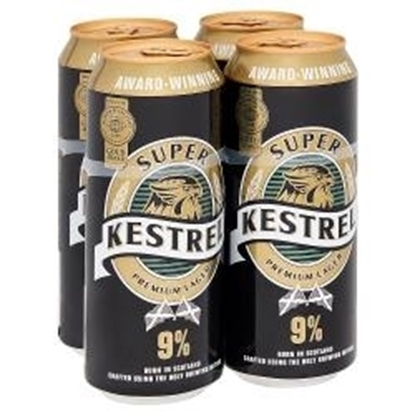 Picture of KESTREL SUPER LAGER 9% 4PK X 6