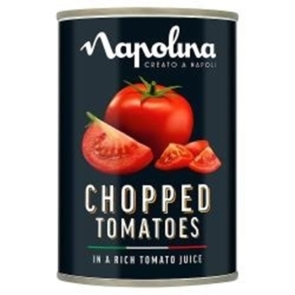 Picture of NAPOLINA CHOPPED TOMATOES 400G x 12