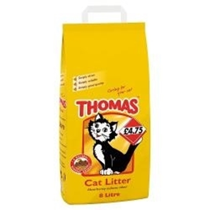 Picture of PM £4.75 THOMAS CAT LITTER 8ltr x 1