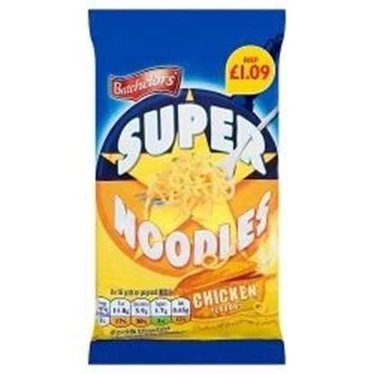 Picture of PM £1.09 SUPER NOODLES CHICKEN 90g x 8