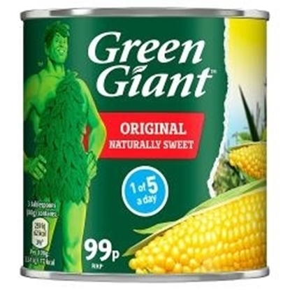 Picture of PM 99P GREEN GIANT SWEETCORN 340G X 12