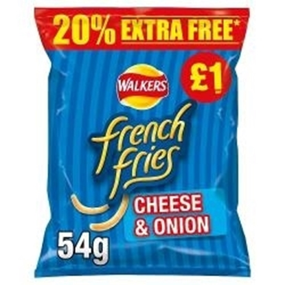 Picture of PM £1 FRENCH FRIES CHEESE & ONION 45g+20% FOC x15