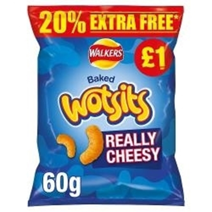 Picture of PM £1 WOTSITS CHEESE 50G + 20% FOC x 15