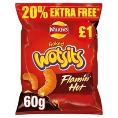 Picture of PM £1 WOTSITS FLAMIN HOT 50G + 20% FOC x 15