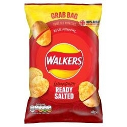 Picture of WALKERS GRAB BAG PLAIN 45g x 32