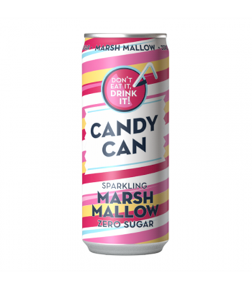 Picture of CANDY CAN MARSHMALLOW ZERO SUGAR 330ml x 12
