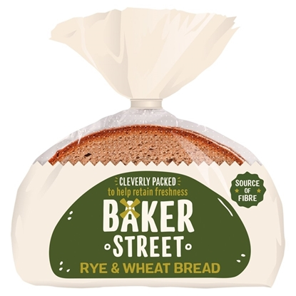 Picture of BAKER STREET RYE & WHEAT BREAD X 14