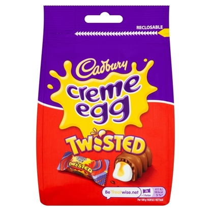 Picture of CADBURY CRÈME EGG TWISTED BAG 83g X 10 HALF PRICE