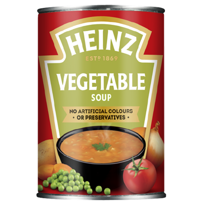 Picture of *NON PM* HEINZ SOUP VEGETABLE 400G X 24