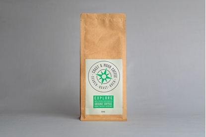 Picture of COAST AND MOOR 250G EXPLORE GROUND COFFEE x 6