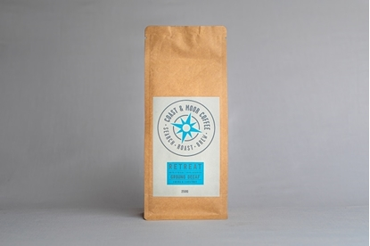 Picture of COAST AND MOOR 250G RETREAT GROUND DECAF x 6