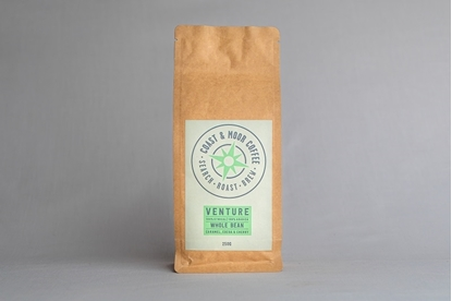 Picture of COAST AND MOOR 250G VENTURE WHOLEBEAN x6